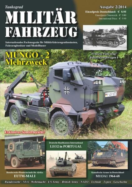 4) Militärfahrzeug 2/2014