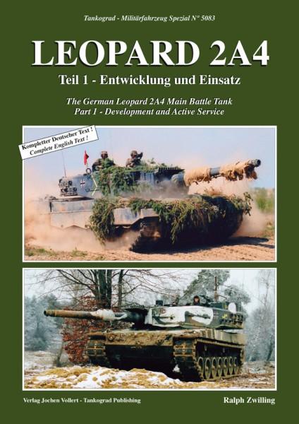 TG-5083 Leopard 2A4 -Entwicklung und Einsatz - Teil 1
