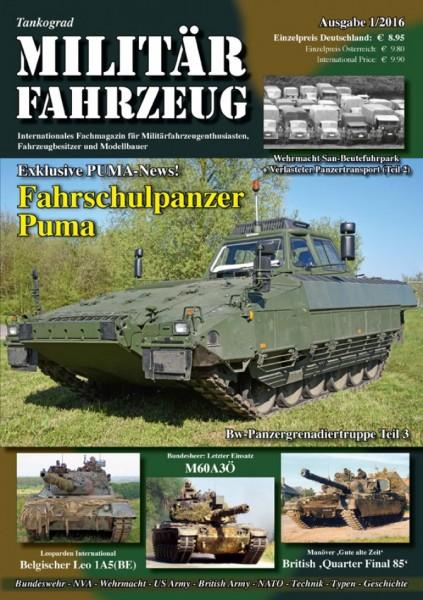 9) Militärfahrzeug 1/2016