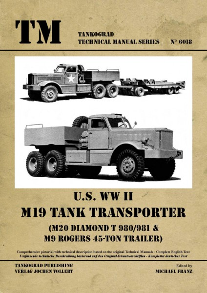 TG-6018 M19 Tank Transporter