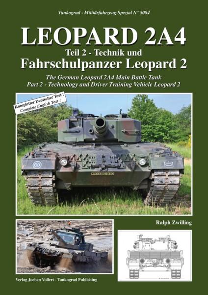 TG-5084 Leopard 2A4 - Technik und Fahrschulpanzer Leopard 2 - Teil 2
