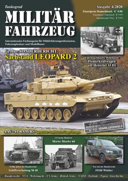 Militärfahrzeug 4-2020