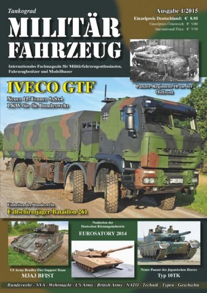 Militärfahrzeug 1/2015