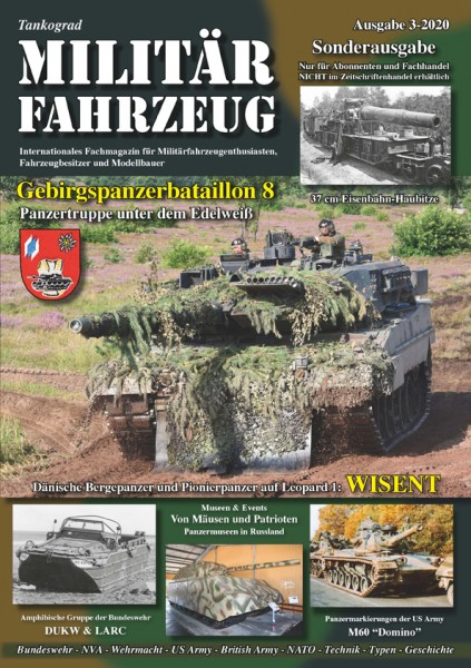 Militärfahrzeug 03/2020