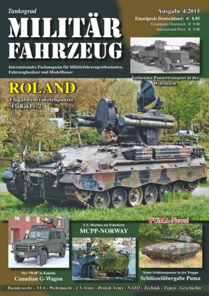 Militärfahrzeug 4/2015