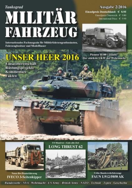 9) Militärfahrzeug 2/2016