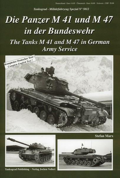 TG-5012 Die Panzer M41 und M47
