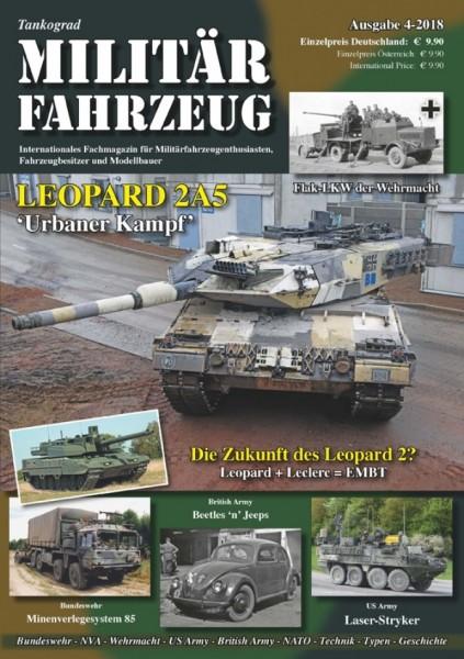 Militärfahrzeug 4/2018