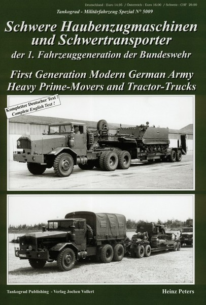 TG-5009 Schwere Haubenzugmaschinen und Schwertransporter