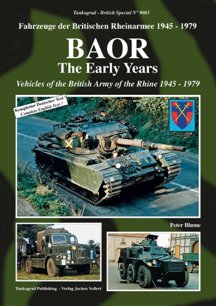 TG-9003 BAOR the early years