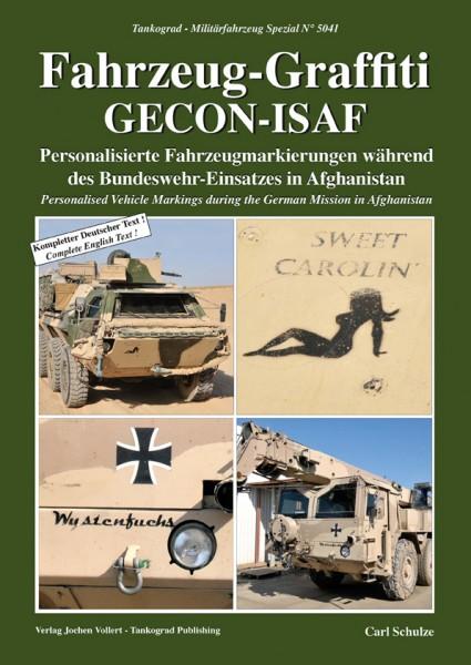 TG-5041 Fahrzeug Graffiti GECON-ISAF