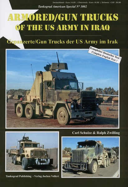 TG-3002 Armoured Gun Trucks of the US ARMY in IRAQ